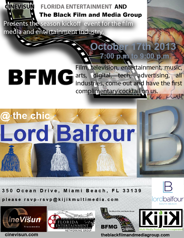 Balfour event flyer
